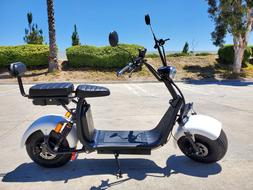 New 2000W + 40AH Double Seat Electric CityCoco Fat Tire Scoo