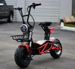 "New 2019 MAD MAX ""STREET"" 2000W 60v Lithium Battery Powered"