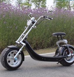 NEW E-DRIFT Electric Scooter 2000w Bike. FAT BIKE HARLEY MOT