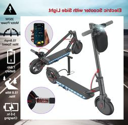 New ! Electric Scooter Adult, with Side Light, Folding , 8.5