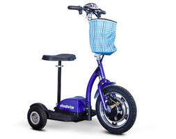 NEW EWheels EW-18 Stand-N-Ride Mobility Scooter - 20 Miles P