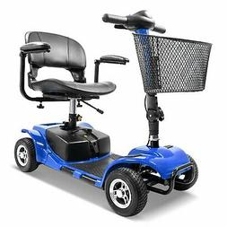 4 wheel mobility scooter electric powered wheelchair