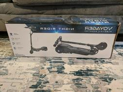 NEW IN BOX | Voyager Night Rider Electric Scooter | Black