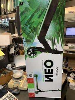 NEW Jetson Neo Electric Kick Scooter with LED Lights - Green