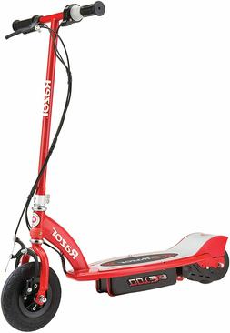 New Razor E100 Electric Scooter 100 Watts Red