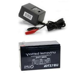 NEW UB1270 12V 7AH Replacement Battery for VIZA VOLT ELECTRI