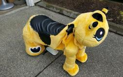 Non Coin Operated Electric Yellow Bee Animal Scooter, Plush