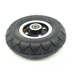 Bearing Pneumatic Wheel Front Sports 1pc Outdoor Black Tire