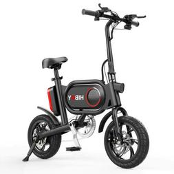 🛴 Hiboy P10 Folding Electric Bike Bicycle + Pedals 350W L