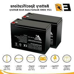 pack of 2 12 volt 10 ah