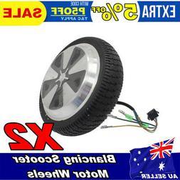 Pair of 6.5'' Motor/Wheel For Self Balancing Electric Cycle