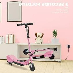 MAXTRA Folding Kids Teens Motorized Electric Scooter Pink Ad