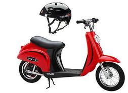 Razor Pocket Mod 24V Electric Scooter  & Youth Sport Helmet