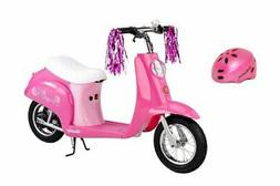 Razor Pocket Mod Euro Girls Electric Scooter Sweet Pea & You