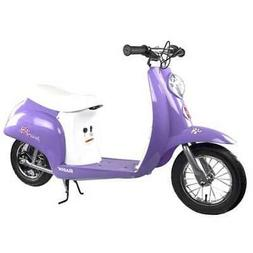 Razor Pocket Mod Miniature Euro 24V Electric Retro Scooter,