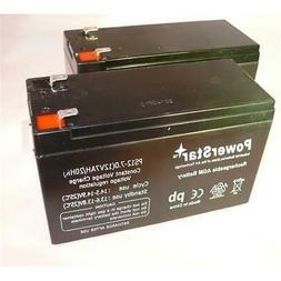 PowerStar PS12-7-2Pack3 12V 7Ah Battery For Razor E200 & E30