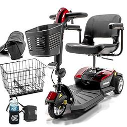 Pride Mobility Go-Go LX with CTS Suspension 3-Wheel Portable
