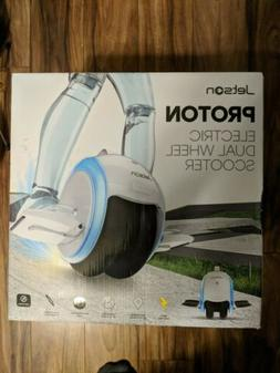Jetson Proton Electric Dual Wheel Scooter, White BRAND NEW