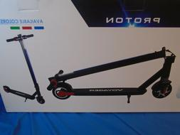 Voyager Proton Foldable Electric Scooter with LCD Display, L