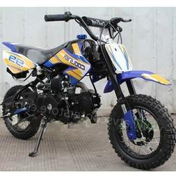 Coolster QG-213A 110cc Dirt Bike Blue