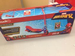 Razor Spider-Man, Electric-Powered Scooter,Kids Toys Play Bi