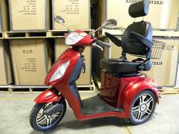 Red Adult Motorized Electric Mobility Scooter, handicap mobi