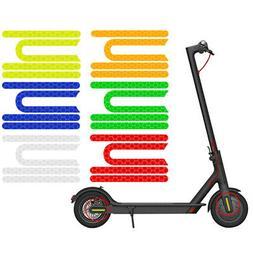 Reflective Sticker 4 Pcs/set Electric Scooter Equipment PVC