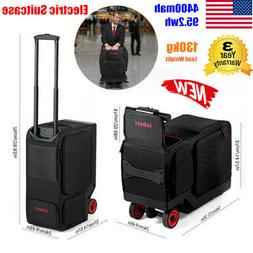 Rideable Electric Travel Suitcase Scooter Carry Luggage With