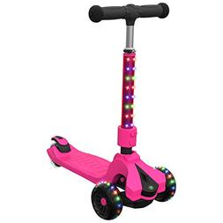 Jetson Saturn Folding 3-Wheel Kick Scooter with Light-Up STE