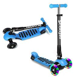 ICODE Scooter for Kids Premium 3 Wheel Kick Scooter for Todd