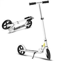 Hikole Kids Scooter - Portable Foldable Adjustable Ultra-Lig