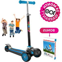 Scooter For Kids, Maxi Foldable Kick Scooter Deluxe, handleb
