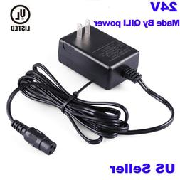 24V Battery Charger Cord for Electric Razor Scooter E175 E20