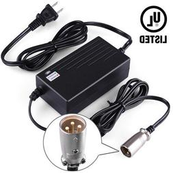 QILI Power Scooter Battery Charger for Jazzy Power Chair Shoprider Scooter GT UL