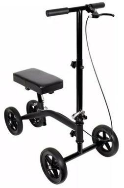 Scooter Knee Walker Leg Crutch Steerable Folding KD 250 Lb C