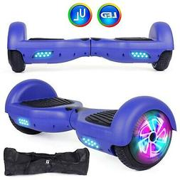 Felimoda Self Balancing Hoverboards with LED Light and Carry
