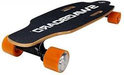 Motorized Electric Longboard, Skateboard Wireless LED Remote