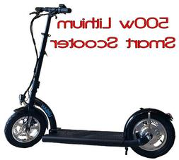 Smart Urban 500watt 36volt Lithium Electric Scooter. Brushle