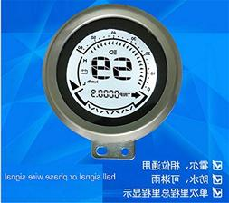 Speedometer lcd display 48-72v gauge for electric scooter eb