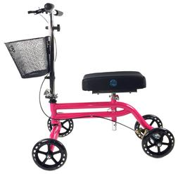 steerable knee scooter knee walker crutch alternative in hot