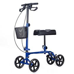 onestops8 Steerable Knee Walker Adjustable Foldable Scooter