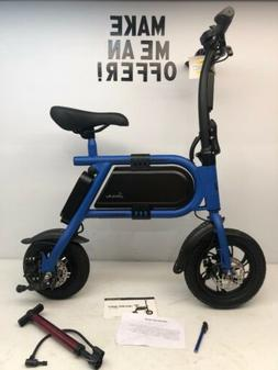 Super Nice Hover-Way Blue Collapsible 12 MPH Electric Scoote