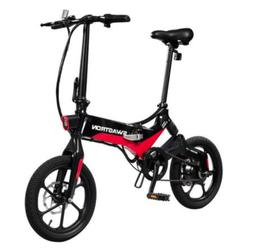 Swagtron Swagcycle EB-7 Elite Folding Electric Bike, 16-Inch