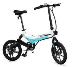 Swagcycle EB-7 Folding Electric Bike 36V Lithium-ion Battery
