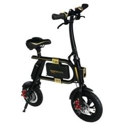 SWAGTRON SwagCycle SC-1 E-Bike Folding Electric Bicycle - 36