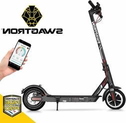 Swagtron Electric Scooter High Speed Cruise Control Folding