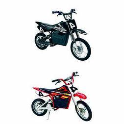 Razor MX650 Electric Dirt Rocket Bike + Razor MX500 Dirt Roc