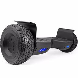 WorryFree Gadgets All Terrain Black Rugged 8.5 Inch Wheels H