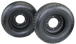 Set of 2 20x8.00-10 Tires w/ 10x5 Segway Black Wheels  FREE