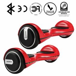 """Megawheels TW01S Self balancing electric scooter 6.5"""" Red fr"""